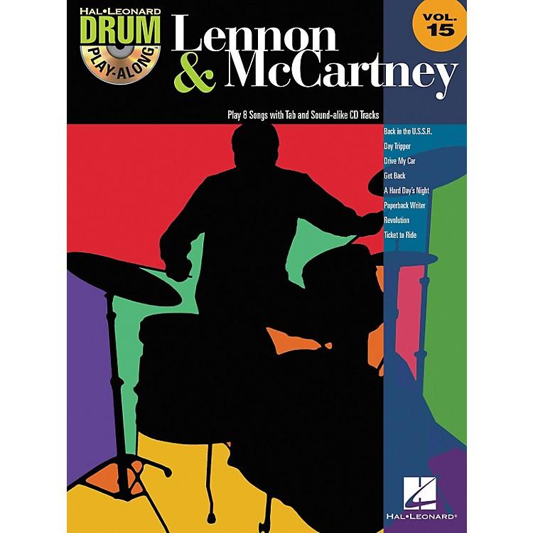 Hal LeonardLennon & McCartney - Drum Play-Along Volume 15 (CD/Booklet)