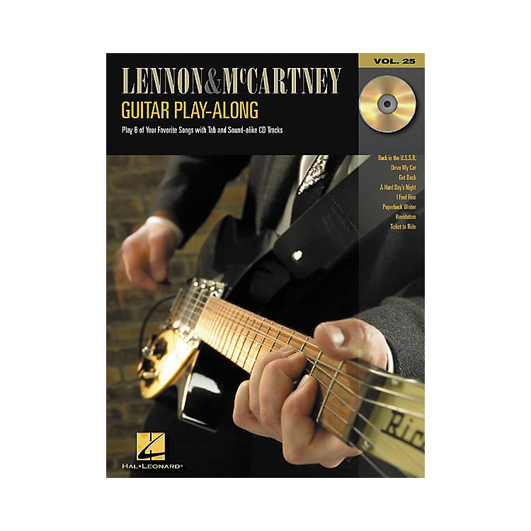 Hal Leonard Lennon & McCartney Guitar Play-Along Series Book with CD