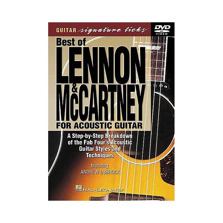 Hal LeonardLennon and McCartney for Acoustic Guitar DVD