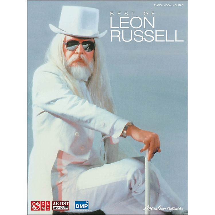 Cherry LaneLeon Russell, Best Of arranged for piano, vocal, and guitar (P/V/G)