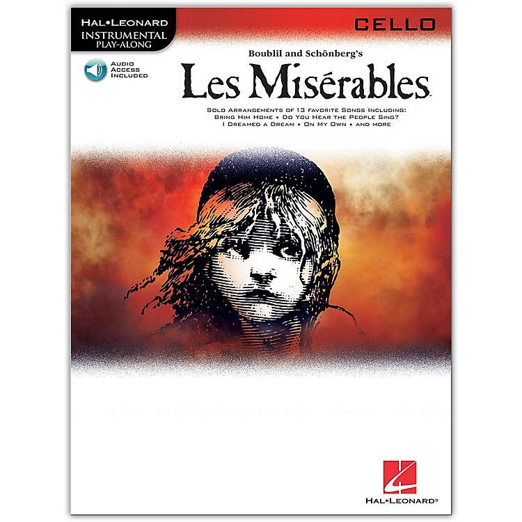 Hal Leonard Les Miserables for Cello - Instrumental Play-Along Book/CD