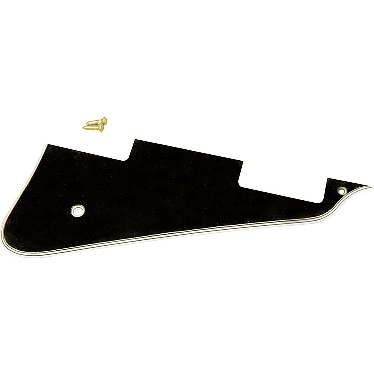 Gibson Les Paul Custom 5-Ply Pickguard with Screws Black