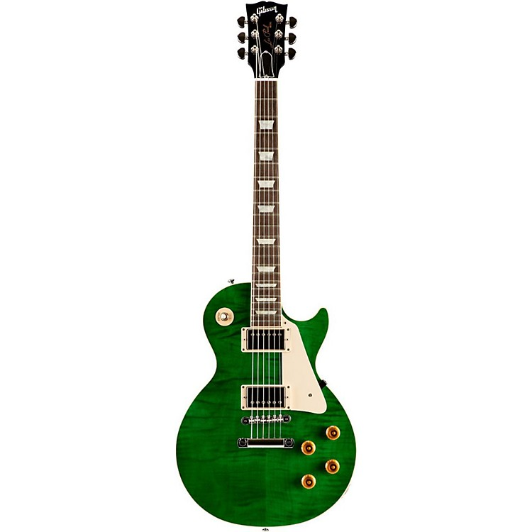 Gibson Custom Les Paul Custom Pro Electric Guitar Transparent Green