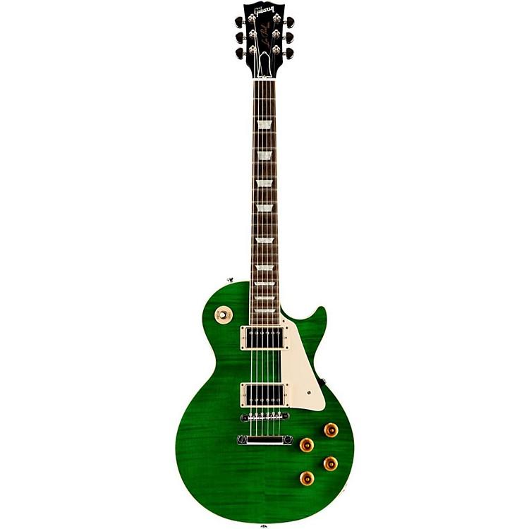 Gibson CustomLes Paul Custom Pro Electric GuitarTransparent Green