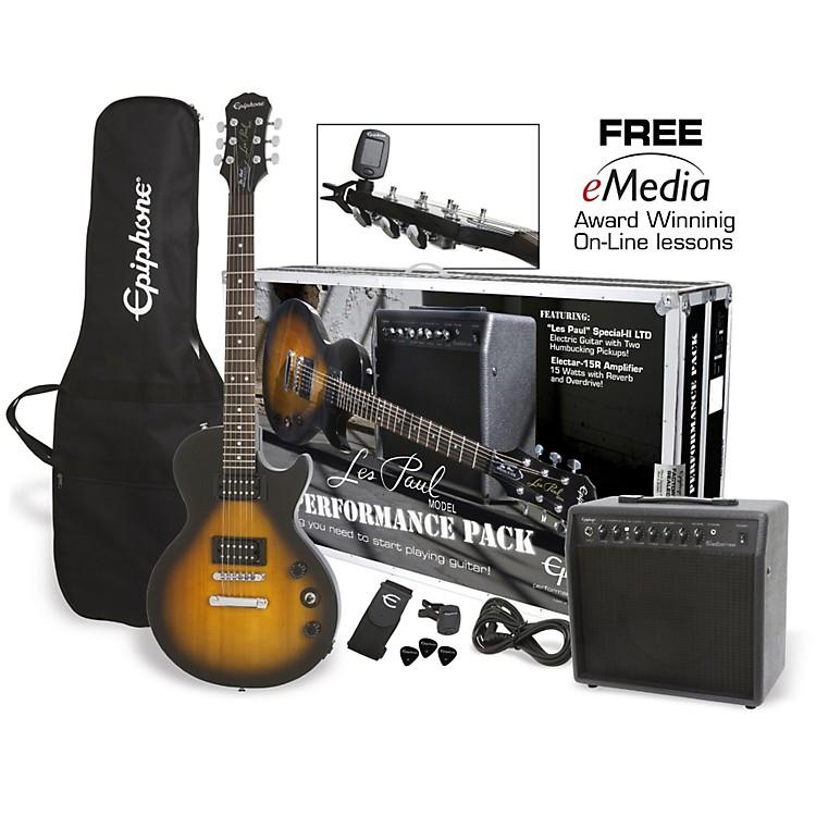 EpiphoneLes Paul Electric Guitar Performance PackVintage Sunburst