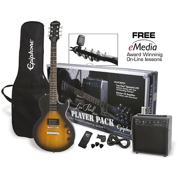 EpiphoneLes Paul Electric Guitar Player PackVintage Sunburst