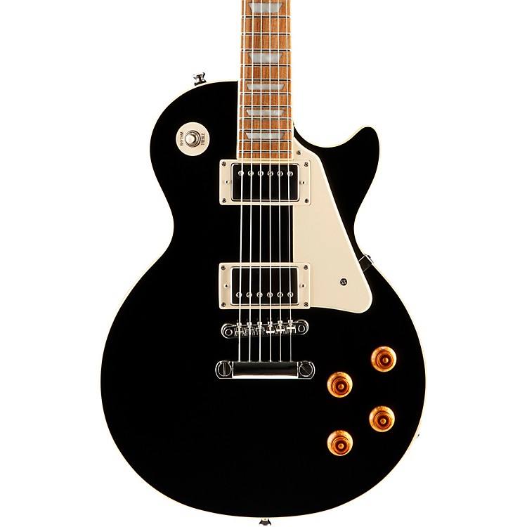 Epiphone Les Paul Standard Plain Top Electric Guitar Ebony