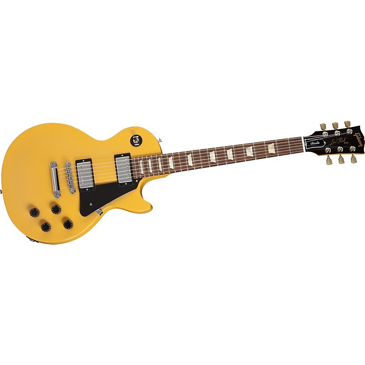 Gibson Les Paul Studio Satin Electric Guitar Satin Yellow