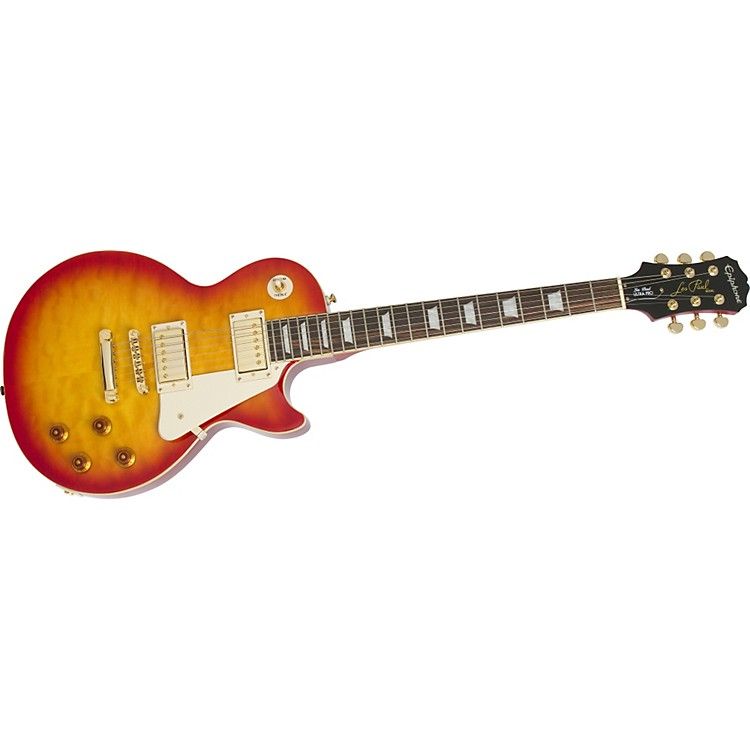 Epiphone Les Paul Ultra PRO Electric Guitar Faded Cherry Sunburst