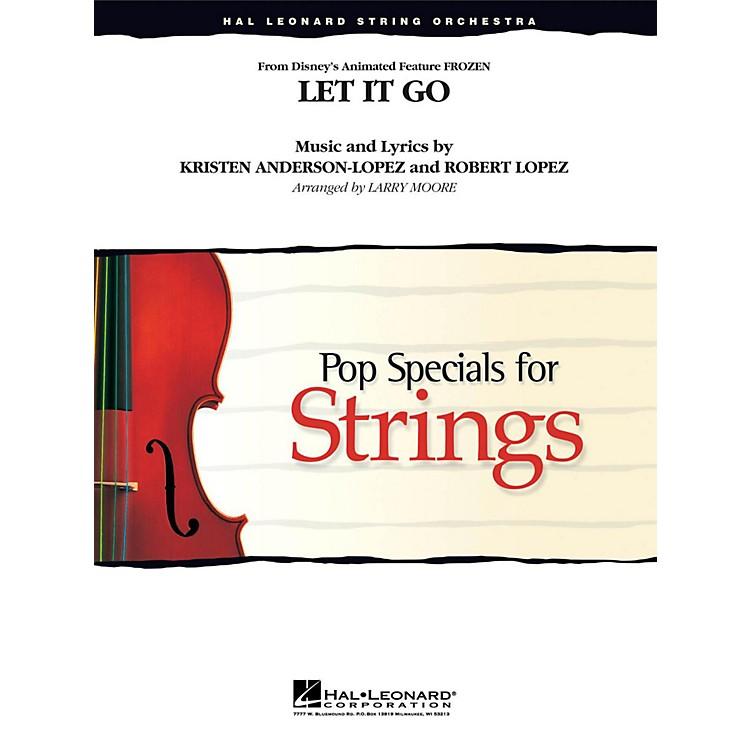 Hal LeonardLet It Go (From Frozen ) for String Orchestra Level 3 - 4