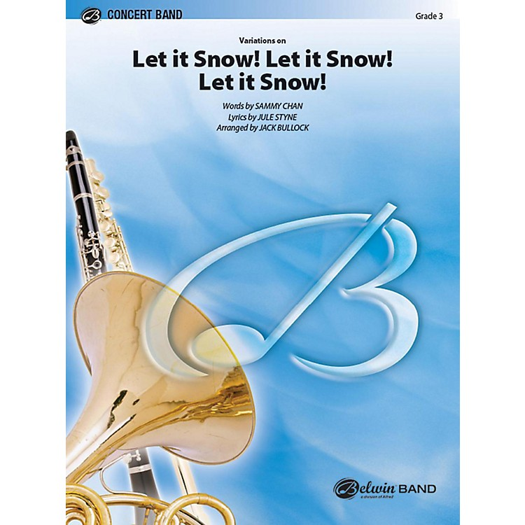 Alfred Let It Snow! Let It Snow! Let It Snow!, Variations on Concert Band Grade 3 Set