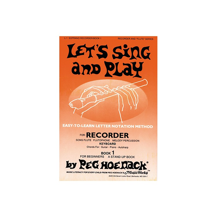 Music Works Let's Sing and Play CD Vol. 1