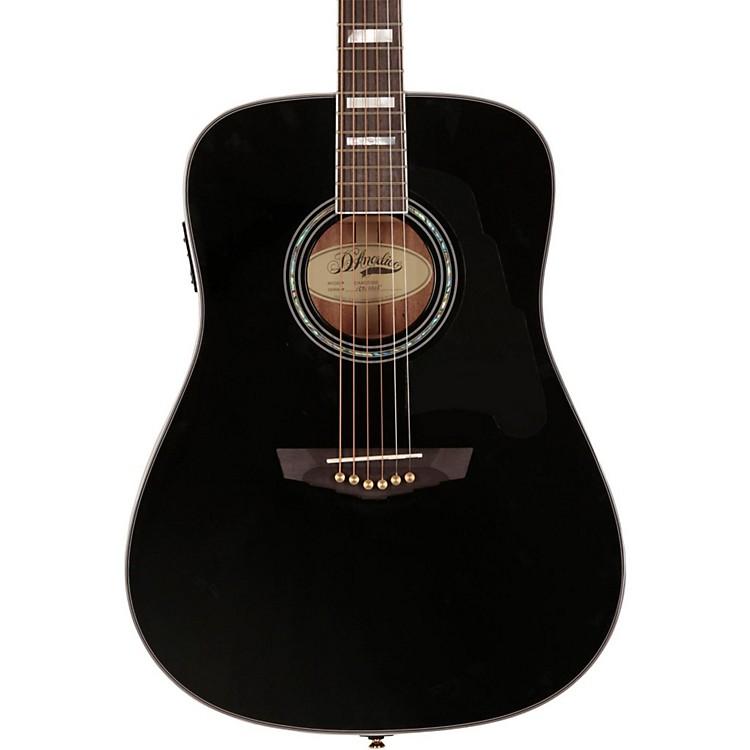 D'AngelicoLexington Dreadnought Acoustic-Electric GuitarBlack