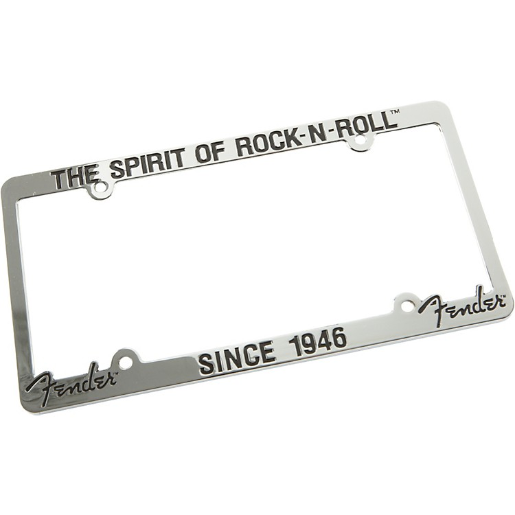 Fender License Plate Frame