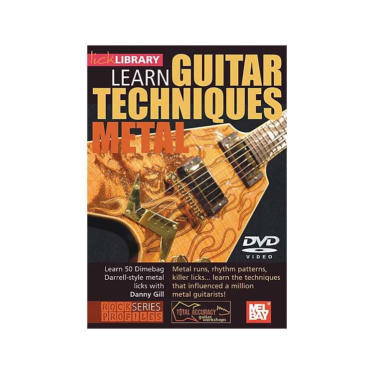 Hal Leonard Lick Library Learn Guitar Techniques: Metal Dimebag Darrell Style DVD