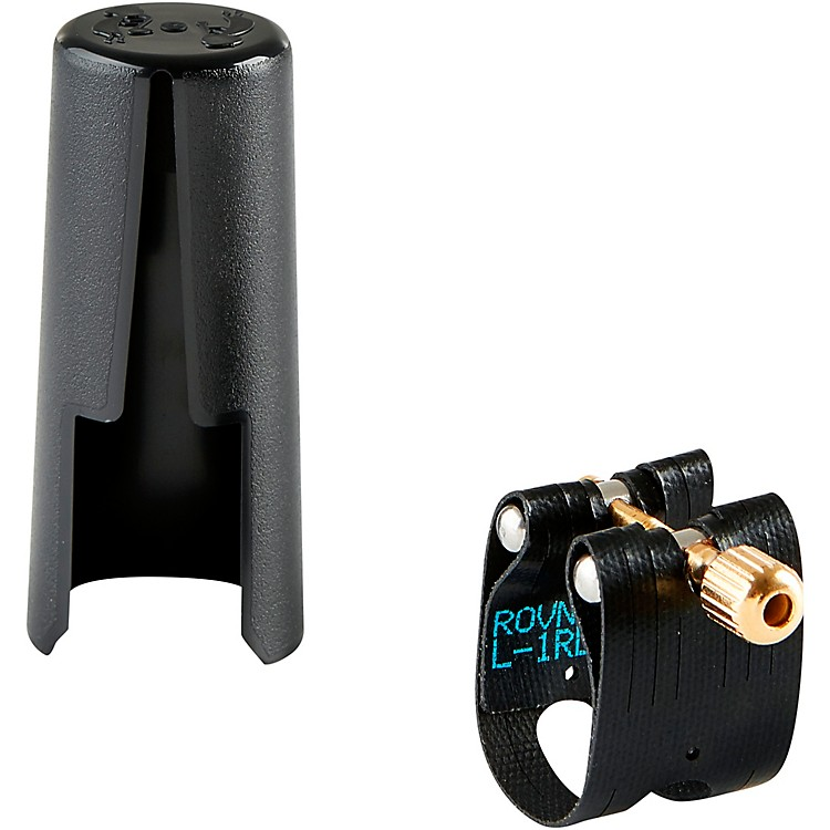 RovnerLight Alto Saxophone Ligature and CapL6 - Fits Most Rubber Alto Sax Mouthpieces