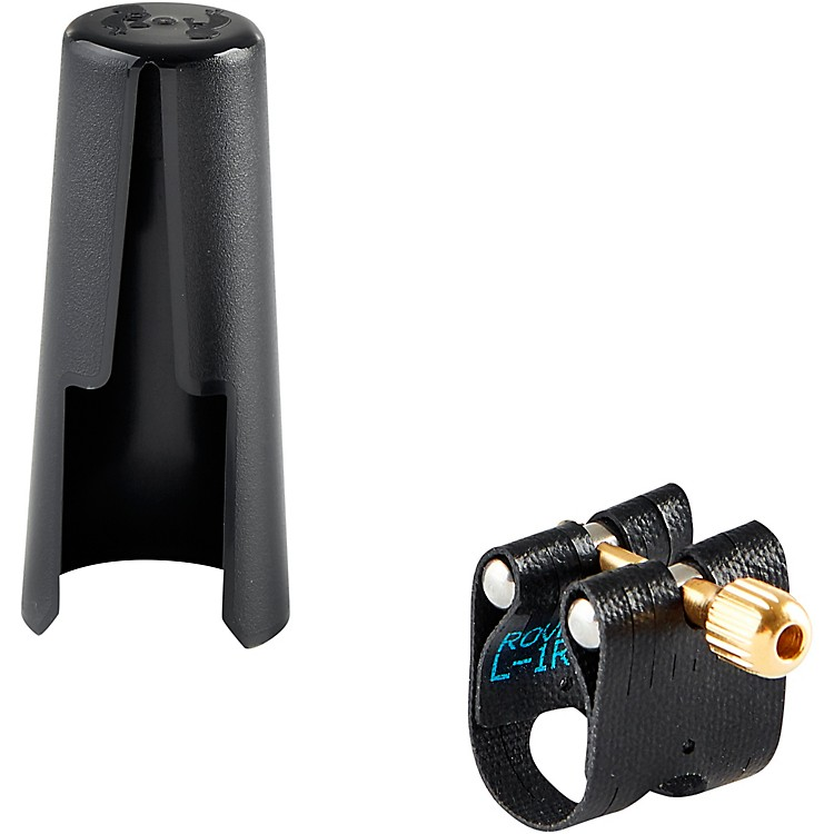 Rovner Light Soprano Saxophone Ligature and Cap L3 - Fits Hard Rubber Soprano Sax Mouthpieces