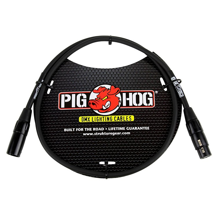 Pig HogLighting Cable DMX 3-pin (10 ft.)3 ft.