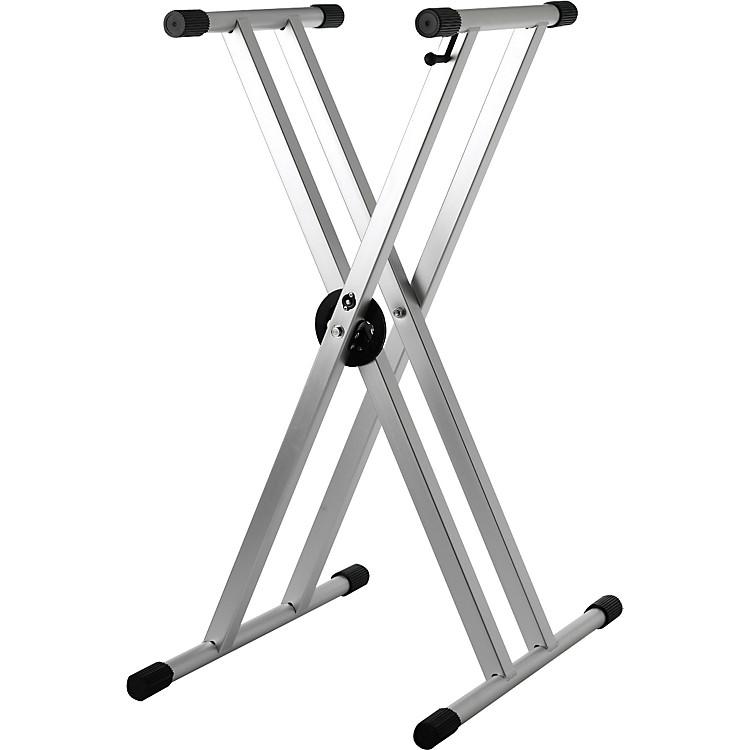 StruktureLightweight Aluminum Keyboard Stand Regular Anodized Titanium GreyAnodized Silver