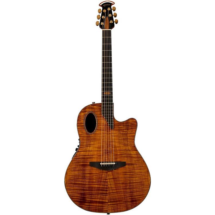 OvationLimited Edition AAAAA Koa Elite Deep Cutaway Acoustic-Electric GuitarNatural