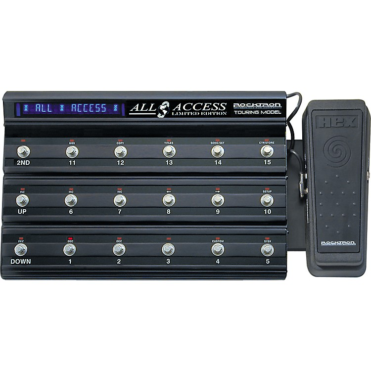 RocktronLimited Edition All Access LTD Footcontroller