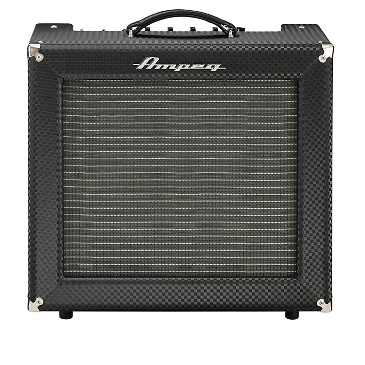 Ampeg Limited Edition All-Tube Heritage R-12R 30W Guitar Combo Amp Black Diamond Tolex
