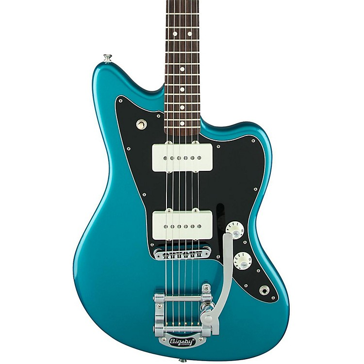 Fender Limited Edition American Special Jazzmaster with Bigsby Electric Guitar Ocean Turquoise