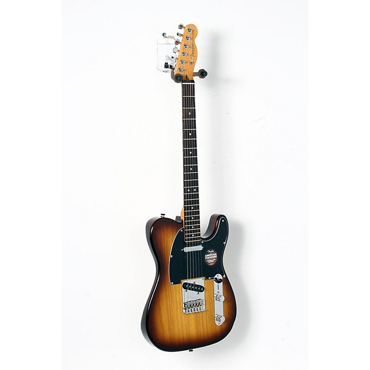 Fender Limited Edition American Standard Telecaster Ash with Figured Neck Electric Guitar Cognac Burst 888365896380