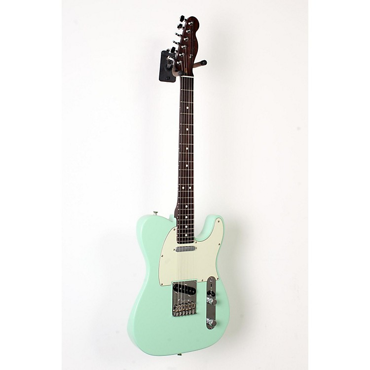 Fender Limited Edition American Standard Telecaster Rosewood Neck Electric Guitar Surf Green, Mint Green Pickguard 888365911540