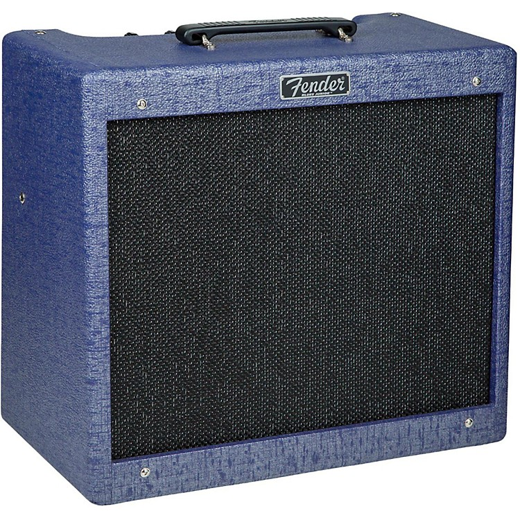 Fender Limited Edition Blues Jr. Amethyst 15W 1x12 Tube Guitar Combo Amplifier Amethyst