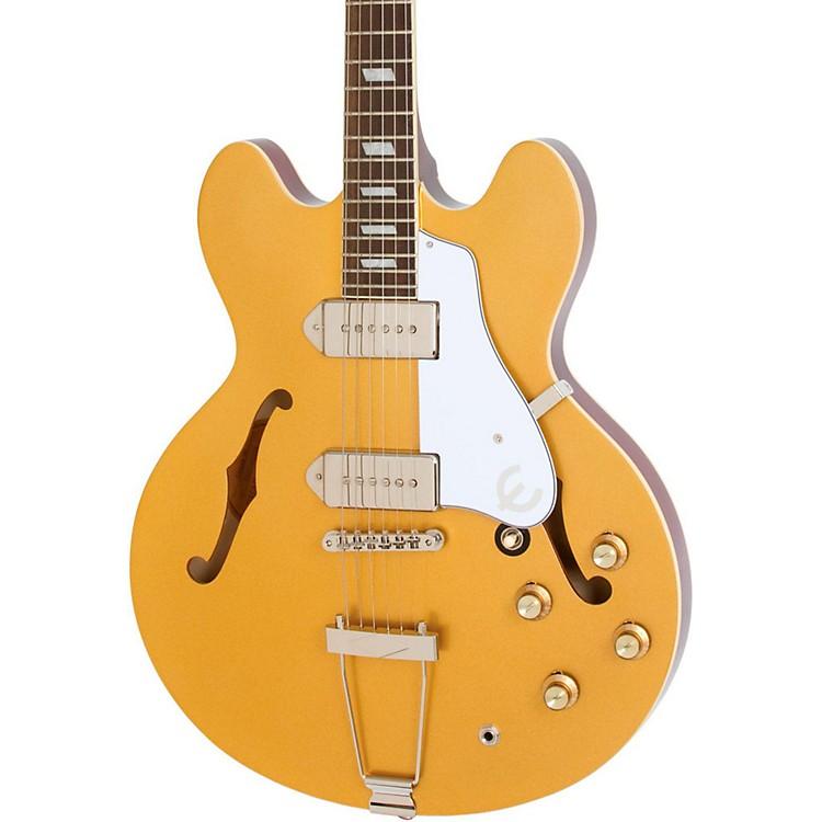 EpiphoneLimited Edition Casino Hollowbody Electric GuitarMetallic Gold