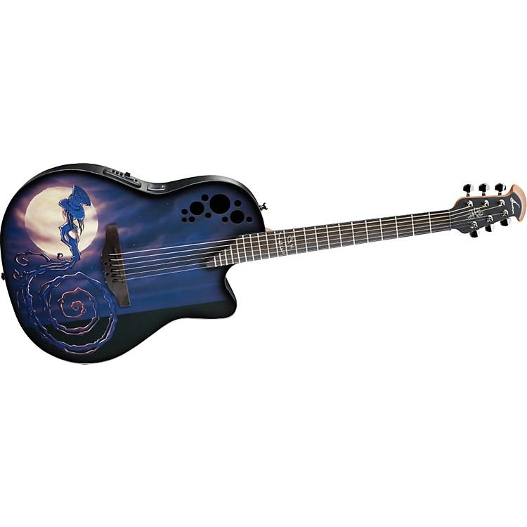 OvationLimited-Edition DJ Ashba Demented Acoustic-Electric GuitarAshbaland
