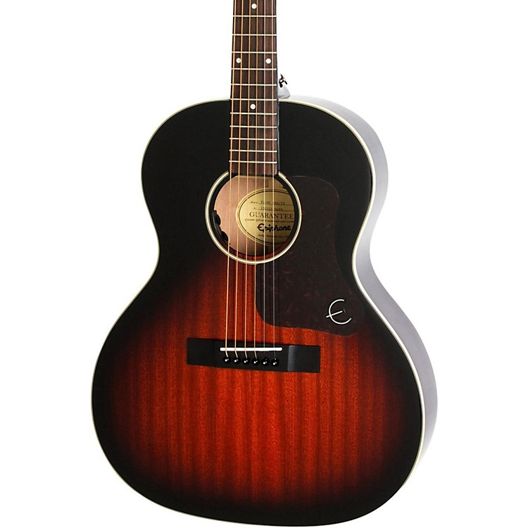 epiphone limited edition el 00 pro mahogany top acoustic electric guitar vintage sunburst music123. Black Bedroom Furniture Sets. Home Design Ideas