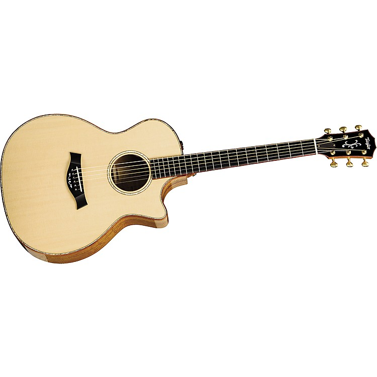 Taylor Limited Edition GACE-LTD-K Grand Auditorium Acoustic Electric Guitar Natural