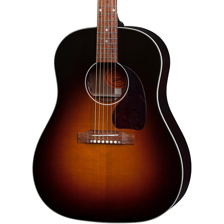gibson limited edition j 45 deluxe acoustic guitar music123. Black Bedroom Furniture Sets. Home Design Ideas