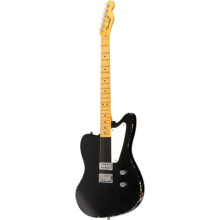 Fender Custom Shop Limited Edition La Cabronita Boracha  Reverse Jazzmaster Electric Guitar Black