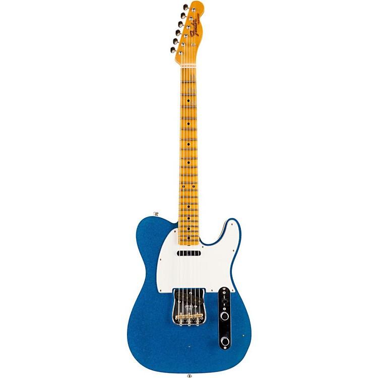 Fender Custom ShopLimited Edition NAMM 2016 Custom Built Postmodern Journeyman Relic Maple Fingerboard TelecasterBlue Sparkle