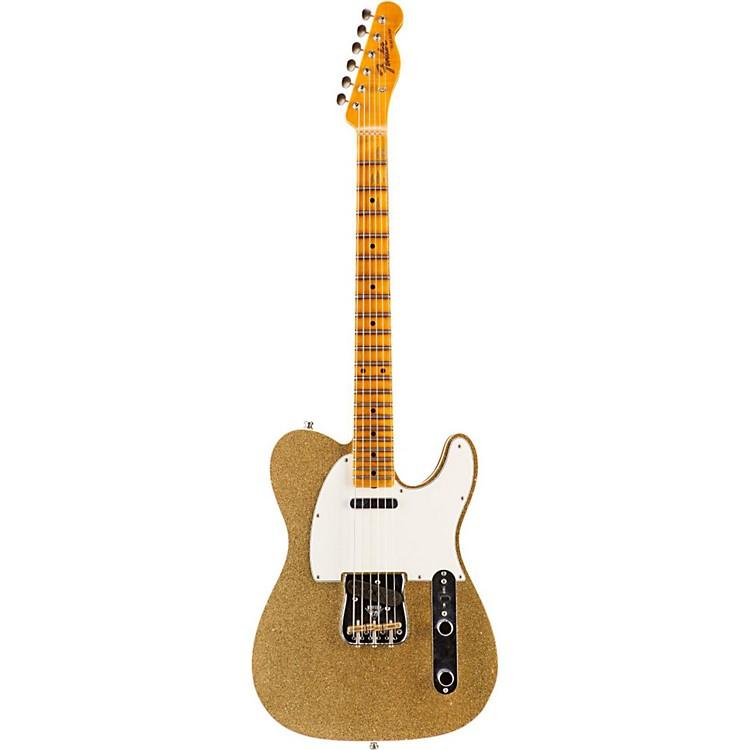 Fender Custom ShopLimited Edition NAMM 2016 Custom Built Postmodern Journeyman Relic Maple Fingerboard TelecasterGold Sparkle