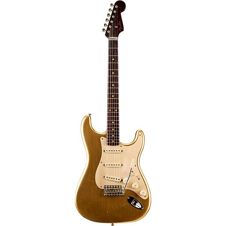 Fender Custom ShopLimited Edition NAMM Custom Built '50s Journeyman Relic Rosewood Neck StratocasterAztec Gold