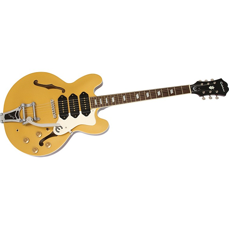 Epiphone Limited Edition Riviera Custom P93 Electric Guitar Gold