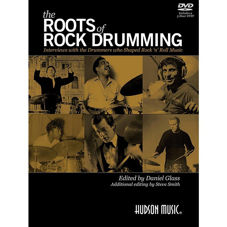 Hudson MusicLimited Edition Roots of Rock Drumming Book/DVD Signed by Steve Smith