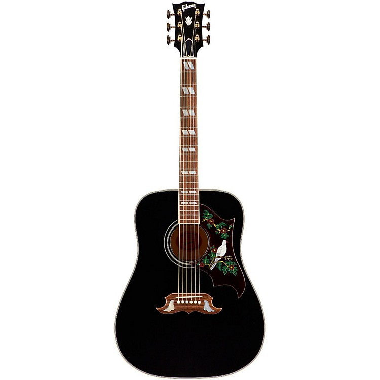 Gibson Limited Edition SSDOEBG17 Dove Special Acoustic-Electric Guitar Ebony