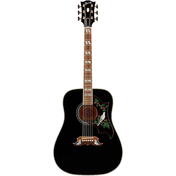 GibsonLimited Edition SSDOEBG17 Dove Special Acoustic-Electric GuitarEbony