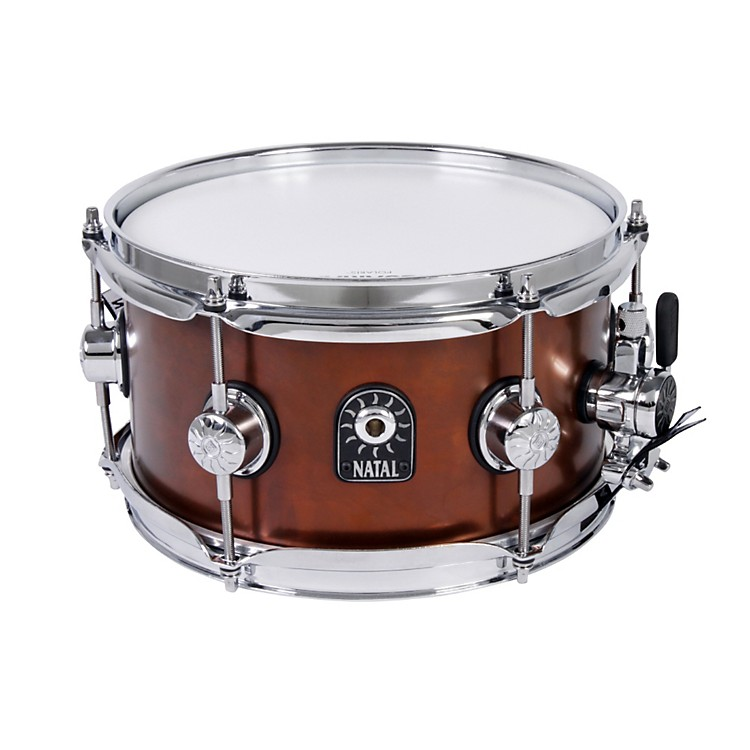 Natal Drums Limited Edition Series Old World Bronze Snare Drum  10x5.5