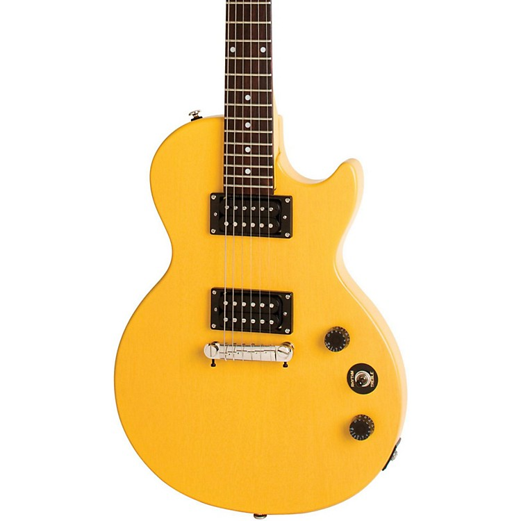 Epiphone Limited Edition Special-I Electric Guitar Worn TV Yellow