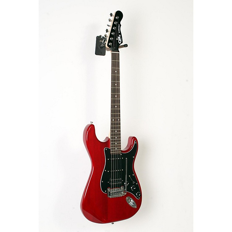 G&LLimited Edition Tribute Legacy HSS Painted Headcap Electric GuitarTransparent Red888365908519