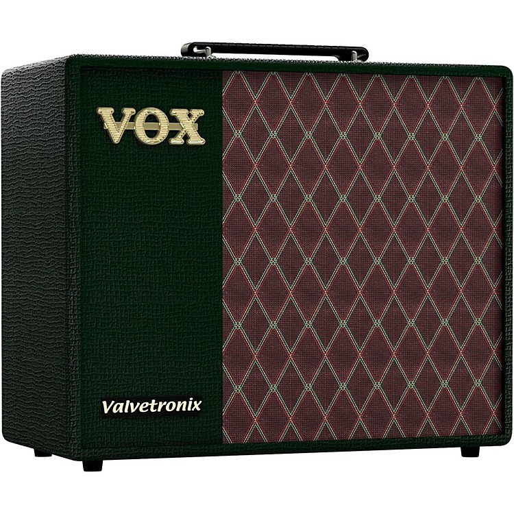 Vox Limited Edition Valvetronix VT40X BRG 40W 1x10 Guitar Modeling Combo Amp British Racing Green