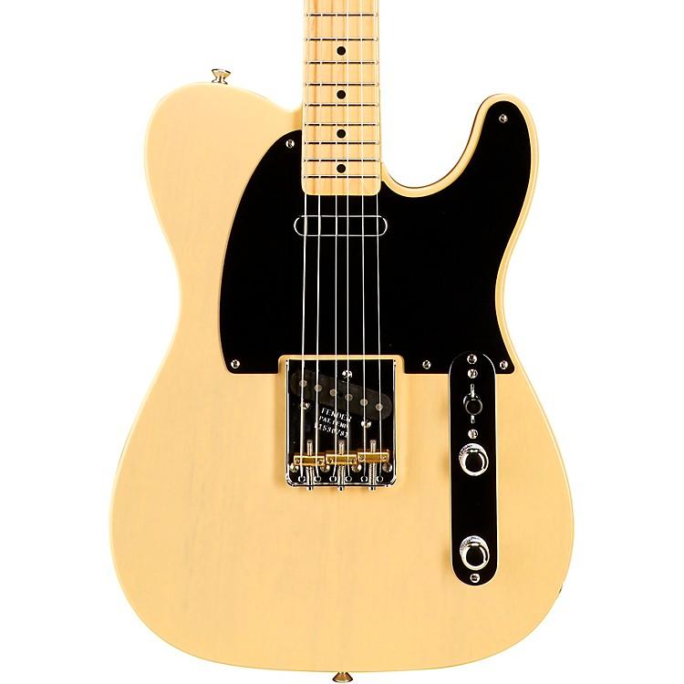 FenderLimited Edition Vintage '52 Korina Telecaster Electric GuitarBlackguard Blonde
