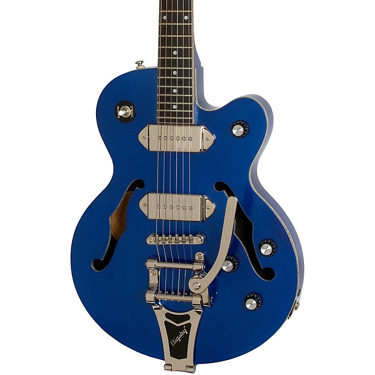 EpiphoneLimited Edition Wildkat Blue Royale Electric GuitarChicago Pearl
