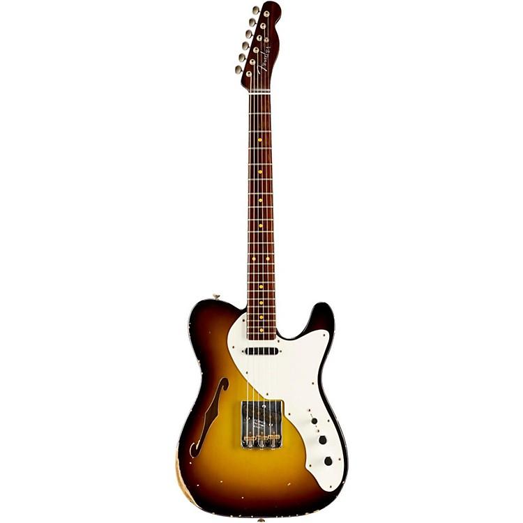 Fender Custom ShopLimited Edtion 50s Thinline Relic Telecaster Roswood NeckSwamp Burst